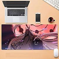 NARUTOマウスパッド大型拡張ゲーミングマウスパッド、滑り止め防水ラバーベースマウスマット-A_900X400X3mm