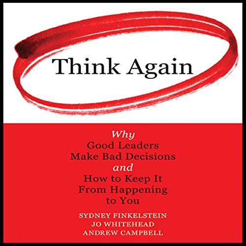 Think Again audiobook cover art