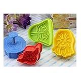 Star Wars Cookie Cutters Plätzchenformen Keks Ausstechformen - Mehrfarbig by DURSHANI