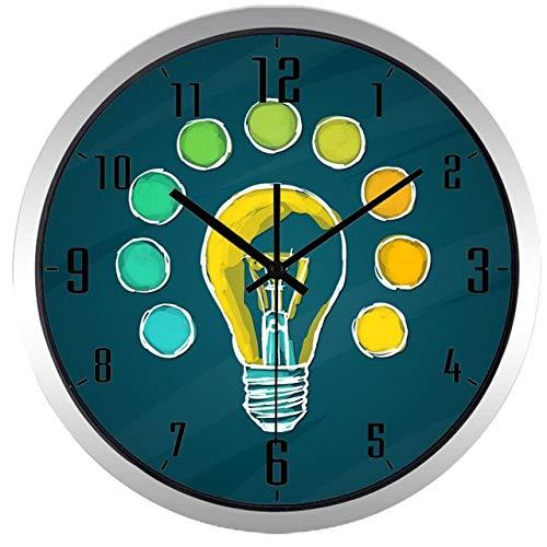 Horloge Murale Ampoule Créative Idea Design Horloge Murale 12 Pouces B155S