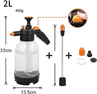 73HA73 Pulverizador Pulsador de Presión de Mano Portátil Ajustable Sprayer Desinfección Química Planta de Riego Jardín Botella de Spray de Agua de Mano