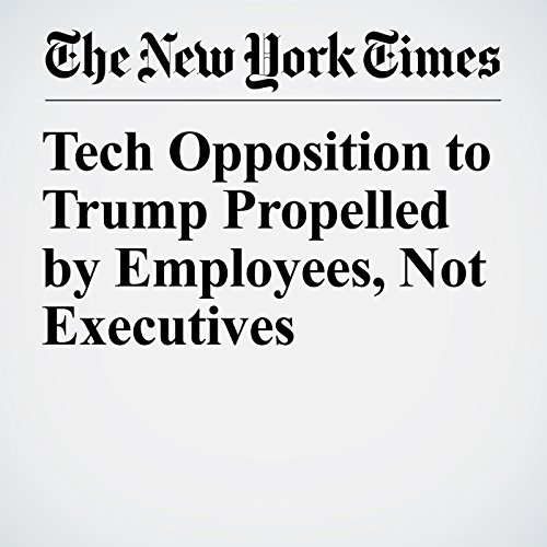 Tech Opposition to Trump Propelled by Employees, Not Executives copertina
