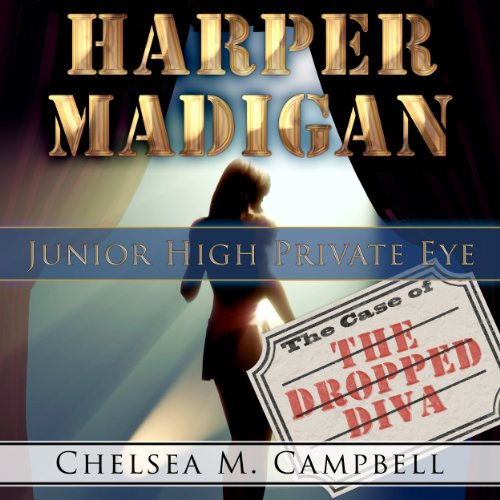 Harper Madigan: Junior High Private Eye audiobook cover art