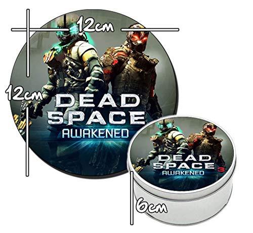 MasTazas Dead Space 3 Awakened Runde Metalldose aus Zinn Round Metal Tin Box
