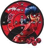 Ladybug Set Diana Velcro, Color Rojo y Negro (Saica 5812)