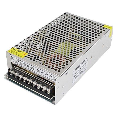 OYY AC-DC 24V 10A Schaltnetzteil 250W Transformator Netzteil für den Dauereinsatz Schalter AC 110-230V Ausgang für LED-Geräte, Videokameras, Überwachungsanlagen, Diebstahlschutz-Anlagen