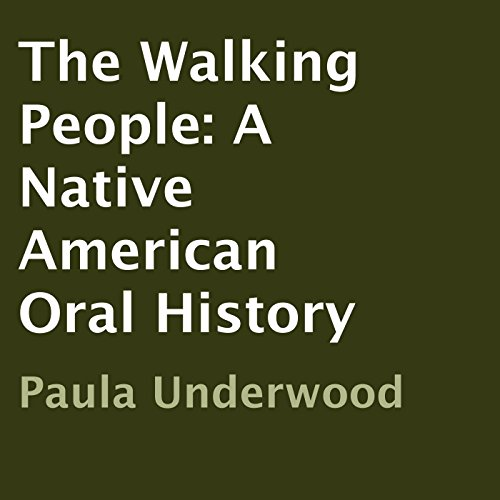 The Walking People Audiobook By Paula Underwood cover art