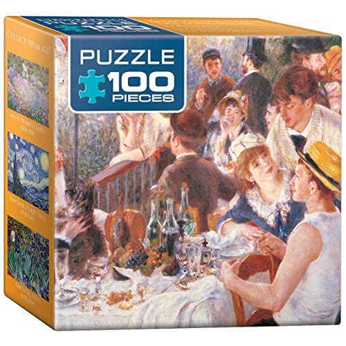 Eurographics Pierre Auguste Renoir Mini Puzzle The Luncheon, 100 Teile