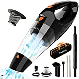 VacLife Handheld Vacuum, Cordless with High Power & Quick Charge Tech, Orange (VL188)