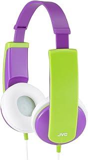 JVC HA KD5 V E Kinder Stereo Kopfhörer mit reduzierter Lautstärke (85dB/1mW)