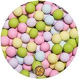 EinsSein® 700g Crispy Schokokugeln Small BUNT Candybar Kugeln Candy Bar Gastgeschenk Taufe Babyparty Kindergeburtstag dragees Süssigkeiten Taufmandeln Party Hochzeit Deko rosa blau gelb grün