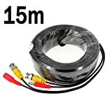BW® 15M / 49.2 Feet BNC Video Power Cable For...