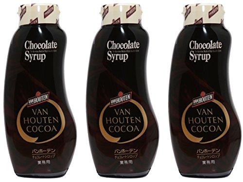 バンホーテン チョコレートシロップ 630g×3個