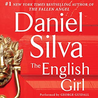 The English Girl audiobook cover art