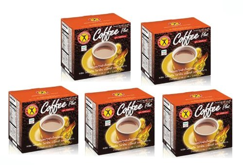 5 Boxes Naturegift Instant Coffee Weight Loss Diet Ginseng Extract with Vitamins