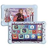 LEXIBOOK MFC149ENY LexiTab Master Bundle Disney Frozen 2-7 Pulgadas Kids Tablet con Aplicaciones de Aprendizaje Juegos Parental Controls-Protective Case Auriculares Android WiFi Google Play Youtube