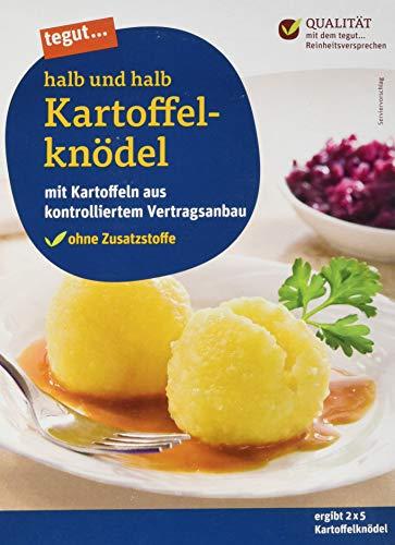 tegut... Kartoffelknödel halb und halb, 310 g
