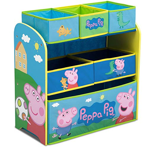 Delta Children Peppa Pig 6-Bin Toy Storage Organizer Now $22.50