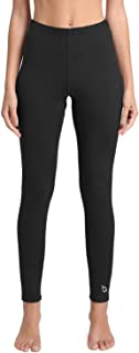 Women's Heavy Weight Thermal Leggings Tights Stretch Fleece Warm Winter Base Layer Underwear