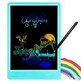 KURATU LCD Writing Tablets for Kids 10 inch Colorful Screen Electronic Drawing Pads Writing Board & Drawing Tablet Doodle Board Writing Tablets,(Blue)