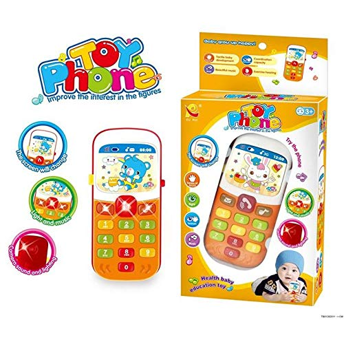 Kindertelefon 1060 mit Musik, Geräusche Einer Kamera und Bilder zum Wechseln