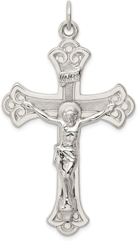 Sterling Silber INRI abgekürzt Kruzifix Kruzifix Kruzifix Anhänger B071CSN6B4 847c57