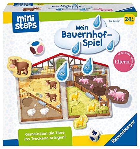 Ravensburger ministeps 04173 Unser Bauernhof-Spiel, Yellow