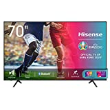 Hisense Uhd TV 2020 70A7100F - Smart TV Resolución 4K, Precision Colour, Escalado Uhd con Ia, Ultra Dimming, Modo Game, Vidaa U 4.0, Compatible Alexa