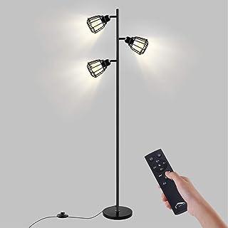 フロアライト スタンドライト3灯 LED 目に優しい 高輝度 フロアランプ フロアスタンド 北欧 調光調色 間接照明 電気スタンド led おしゃれ タッチとリモコン操作 勉強/仕事/読書に適用 照明灯