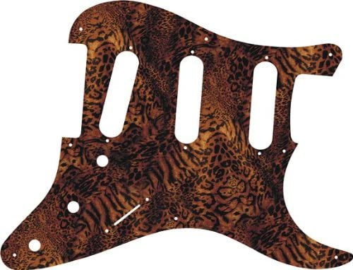 Custom Graphical Pickguard to fit Fender Max 53% OFF R Hole Strat Max 87% OFF 1957 SSS 8