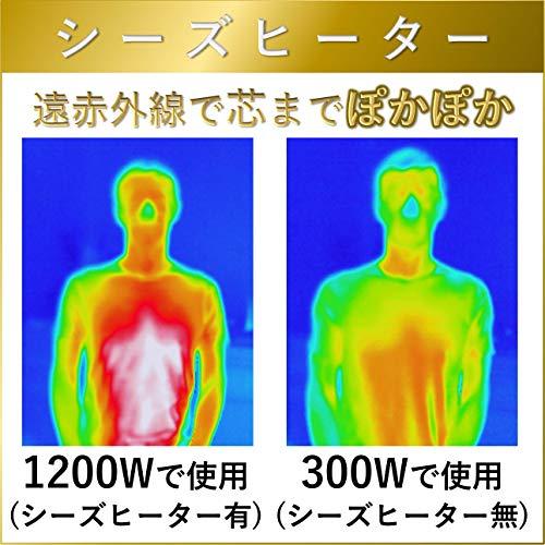 YAMAZEN(山善)『ツインヒートプラス(DBC-J122)』