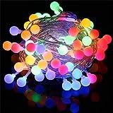 7. Innoo Tech - Cadena de luces bombillas multicolor