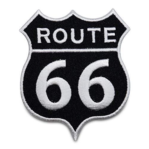 Finally Home Route 66 Usa Motorrad Bügelbild Patch zum Aufbügeln | Patches, Aufbügelmotive