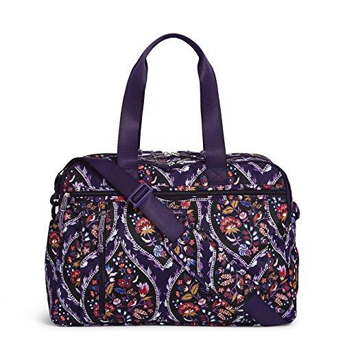 Vera Bradley Lighten Up Weekender Travel Bag, Foxwood Meadow