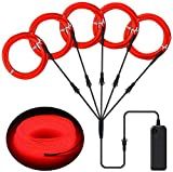 Best El Wires - ILEBYGO EL Wire Neon Lights Kit with Portable Review