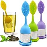 DINGHENG Tee-Ei Teesieb Extra feines Teefilter aus 304 Edelstahl und