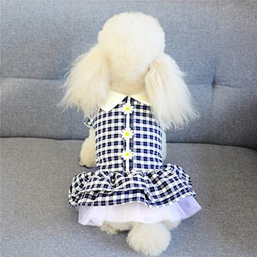 FAPROL Lindo Arnés para Vestido De Perro Chaleco para Mascotas Falda...