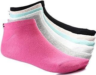 Carina Socks - Set of 6 Half Towel Ankle Socks for Women - Multi Color