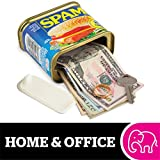 "BigMouth Inc SPAM Can Safe — Great Hiding Place for Storing Valuables, 3"" x 3"" x 4.5"""