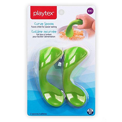 Playtex Baby Curve Early Self-Feeding Spoons