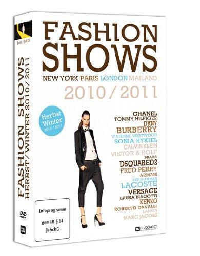Fashion Shows Herbst/Winter 2010/2011 (4 DVD-Box) - Designer und Topmodels auf den Laufstegen der Modemetropolen London, Paris, Mailand und New York!