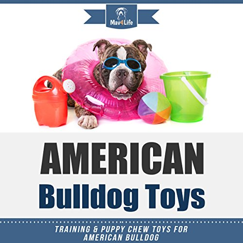American Bulldog Toys audiobook cover art