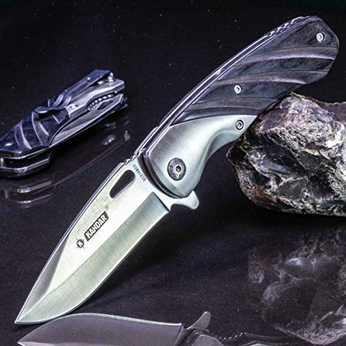 KANDAR CR-05 • Pocket Folding Outdoor Camping Edc Knife • Overall Lenght: 8.46in • PTM-uk.