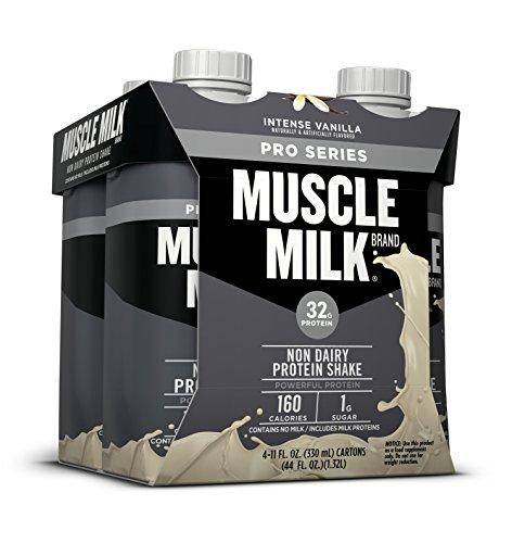 Muscle Milk Pro Series Protein Shake, Intense Vanilla, 4 Count