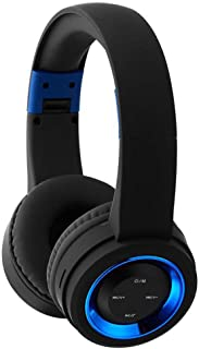 JMcall® Wireless Headphones Bluetooth Headset Noise Cancelling Over Ear With Microphone(Color:blue & Material:ABS)