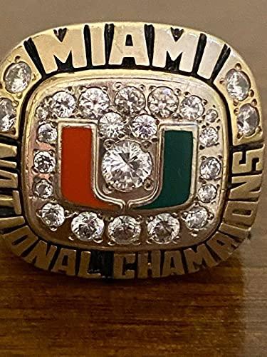 1991 Miami Hurricanes National Championship Ring US 10.5