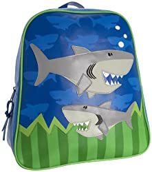 Stephen Joseph Boys Shark Backpack