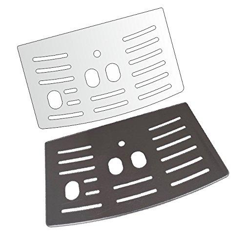 3 x Schutzfolie für DeLonghi PrimaDonna S/De Luxe/Vintage 26.455 MB - 28.465 MB - 28.466 - Abtropfblech - Tassenablage - Abstellblech