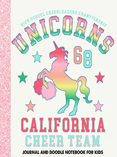 High school cheerleaders Unicorns: The perfect gift for children - Composition Size (7.5