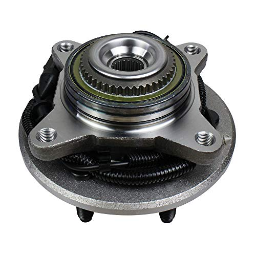 Autoround 515079 Wheel Hub and Bearing Assembly, 4WD Front Axle for Ford F-150 2005-2008, Lincoln Mark LT 2006-2008, 6 Lug 4x4 Only